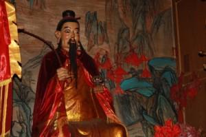 Shiitake Gottheit in Zhejiang