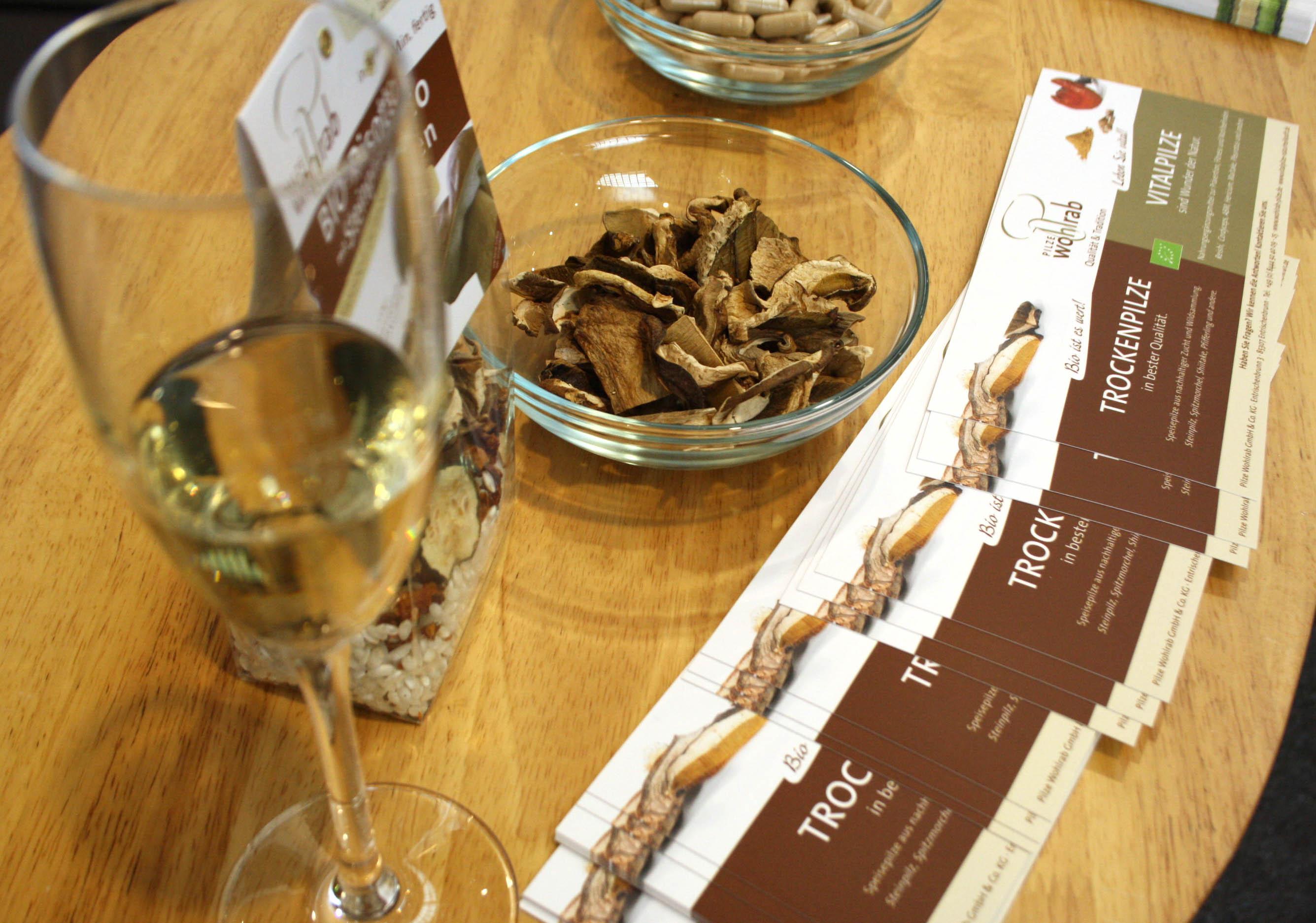 Pilze Wohlrab auf der Bodan Hausmesse