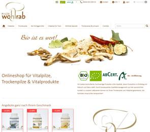 Vitalpilze Naturheilkraft Onlineshop