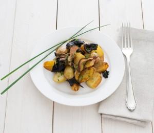 Kartoffel-Waldpilz-Pfanne