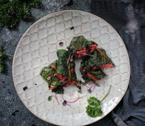 Vegane Reishi-Mangold-Rouladen