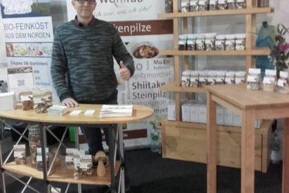 Pilze Wohlrab auf der Hausmesse Weiling in Coesfeld