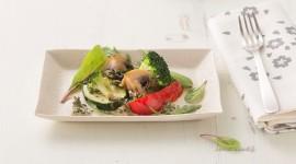 Gemüse-Pilz-Auflauf mit GREEN CRAMBLE© Soße