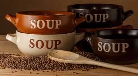 Mandelpilz-Cremesuppe
